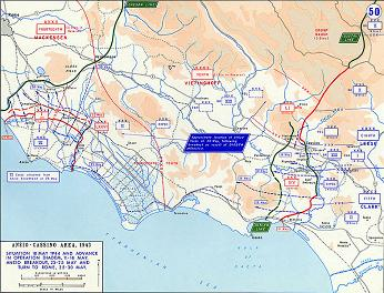 Operations in Anzio 18-30 May 1944