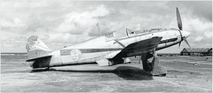 Ki 61, the 'Tony' - photographed at an airfield in Fukueka, Japan