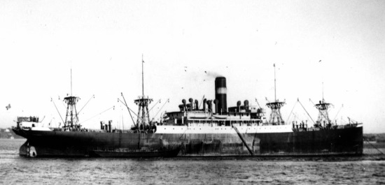 A black and white photo of the Duchessa