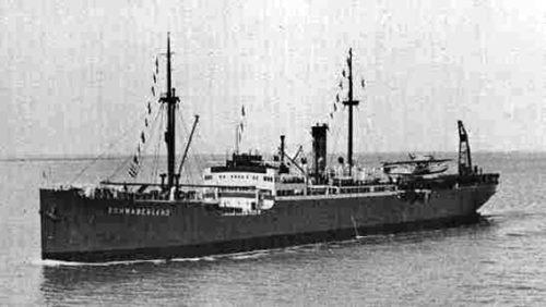 The Schwabenland freighter